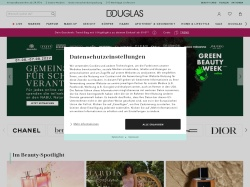 Douglas.de screenshot