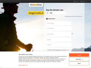 screenshot dragoncello.it