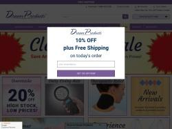 Dream Products Catalog screenshot