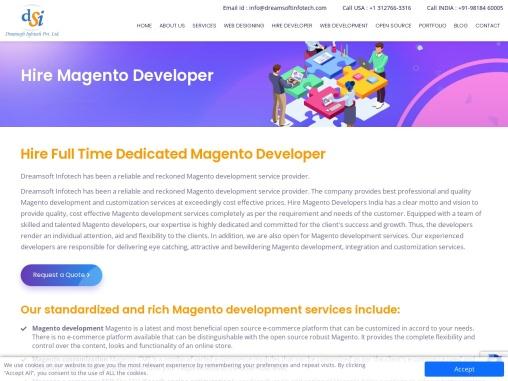 Hire Magento development company in Netherlands