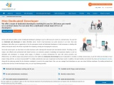 Hire dedicated web developer in India at low price