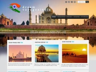 Screenshot for dreamvoyagesindia.com