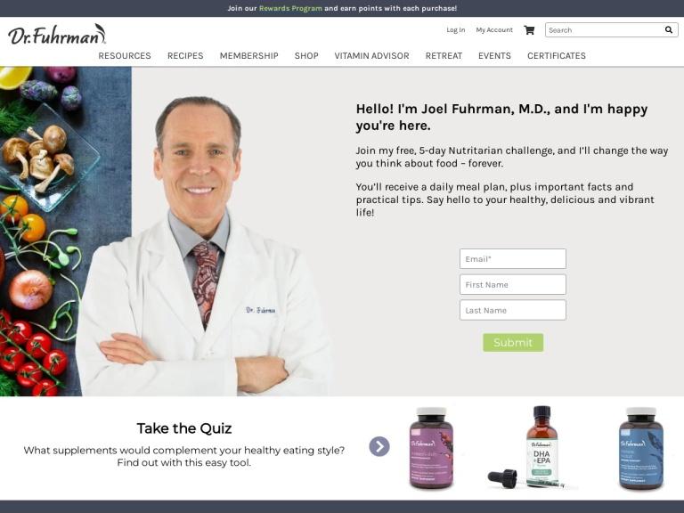Dr Fuhrman screenshot