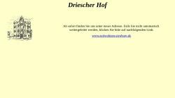 www.driescher-hof.de Vorschau, Hotel Driescher Hof