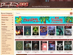 Drivethrurpg coupon codes March 2019