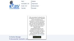 www.drw-disco.de Vorschau, DRW-Veranstaltungsservice