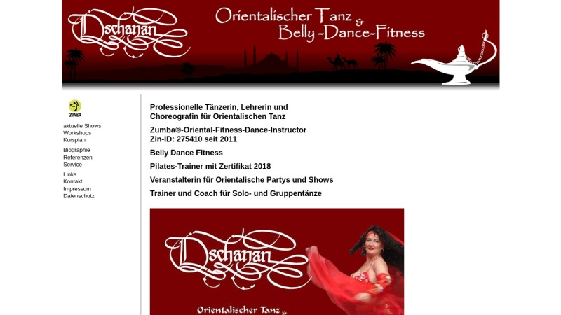 www.dschanan.de Vorschau, Dschanans
