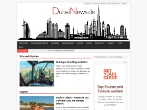 Informationen zu Sehenswürdigkeiten, Hotels und Top-Themen in Dubai.
