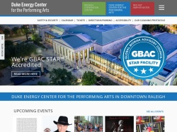 Duke Energy Center coupon codes July 2018