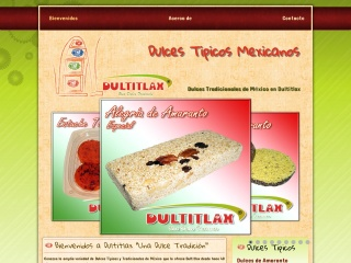 Captura de pantalla para dultitlax.mx