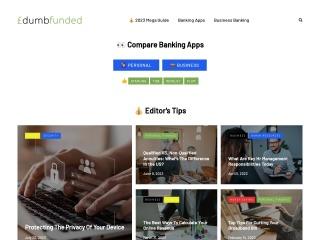 Screenshot for dumbfunded.co.uk