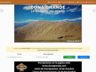 Captura de pantalla para dunagrande.com