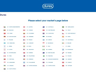 Screenshot for durex.com