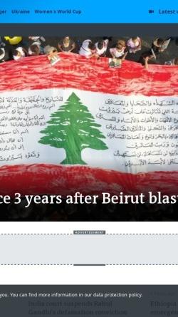 Vorschau der mobilen Webseite www.dw-world.de, Deutsche Welle TV