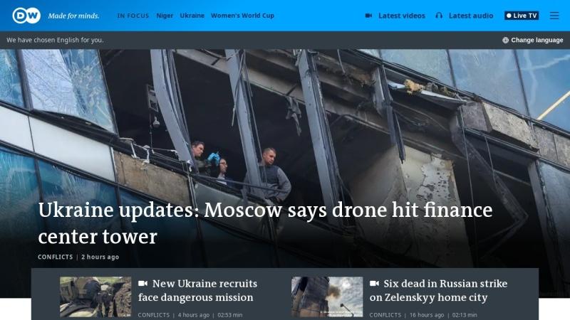 www.dw.de Vorschau, Deutsche Welle