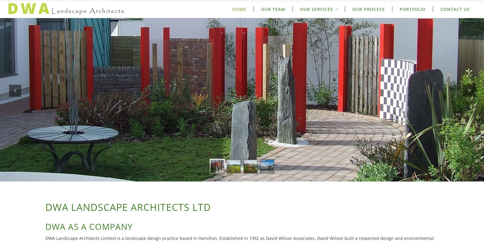 Preview of http://www.dwalandscapearchitects.co.uk