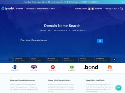 Dynadot.com screenshot