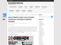 500 Ultimate Fonts Collections – Steadfast for Web & Graphic Designs