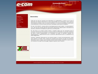 Captura de pantalla para e-com.cl