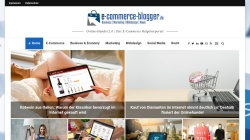 www.e-commerce-blogger.de Vorschau, E-commerce-blogger