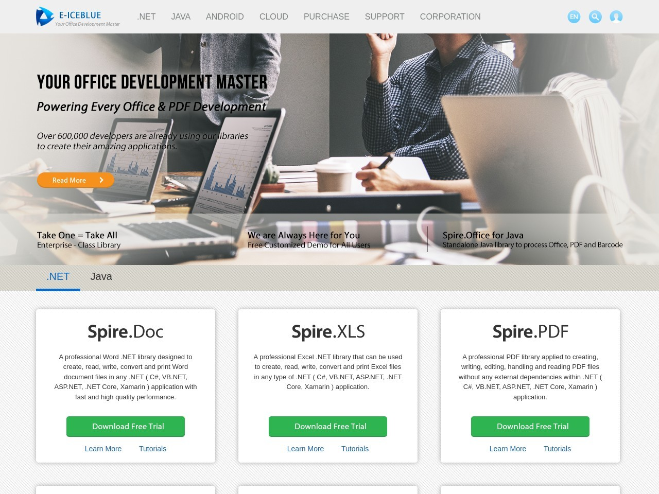 Spire.Office Platinum Site Enterprise Subscription