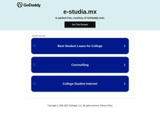 Captura de pantalla para e-studia.mx