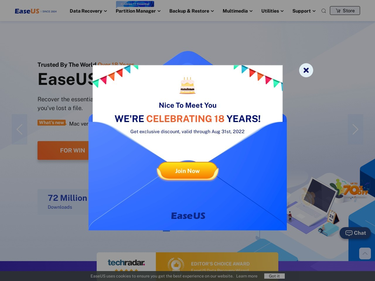 EaseUS Todo Backup Server 10.5