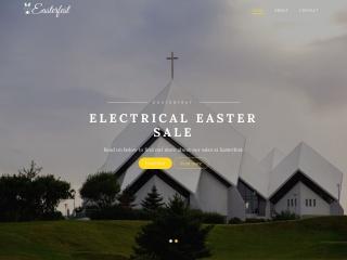 Screenshot for easterfest.com.au
