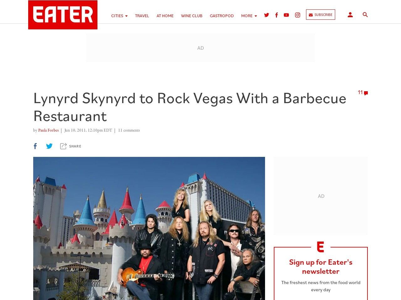 Lynyrd Skynyrd to Rock Vegas With a Barbecue Restaurant …