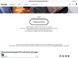Online store Ebags.com