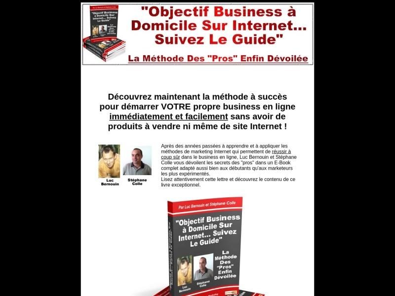 business a domicile sur internet