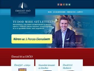 ebredoeroakademia.hu webhely képe
