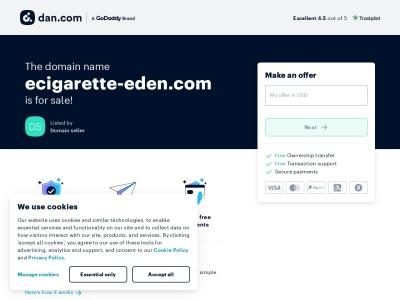 Eden Ecig : Vente de cigarettes éléctroniques