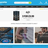 Up to 50% off selected products at E Cigarettedirect