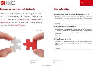 Capture d'écran pour ecolocale.fr