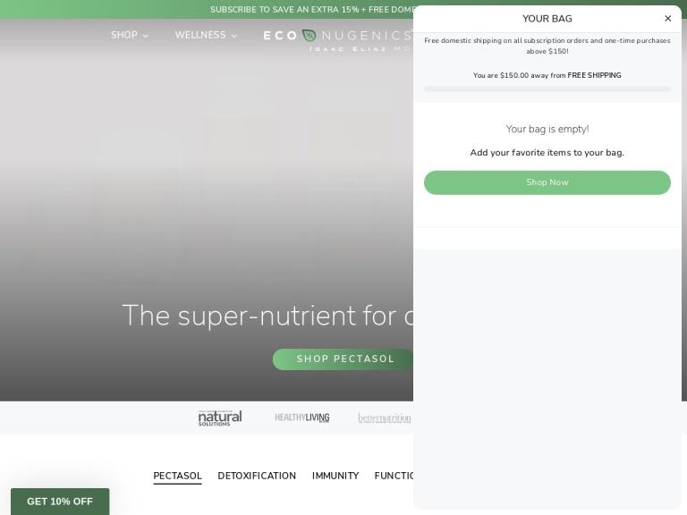 EcoNugenics screenshot