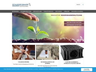 Screenshot der Website ecotechnic.at