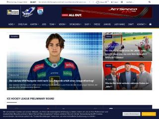 Screenshot der Website ecvsv.at