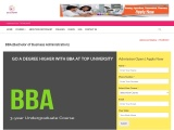 BBA (BACHELOR'S OF BUSINESS ADMINISTRATION), ELIGIBILITY, FEE, JOBS, INSTITUTE