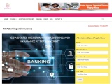MBA (BANKING AND INSURANCE), ADMISSION, ELIGIBILITY, FEE, SYLLABUS