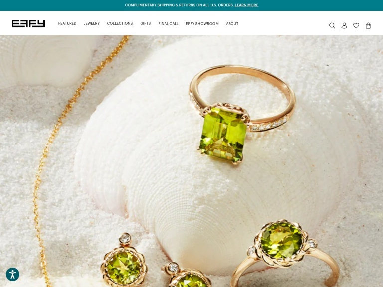 Effy Jewelers Coupon Codes