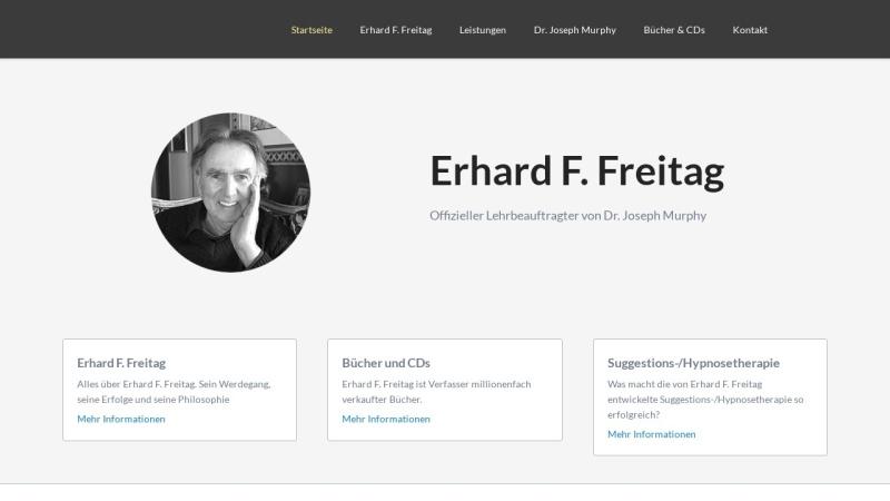 www.efreitag.com Vorschau, Erhard F. Freitag