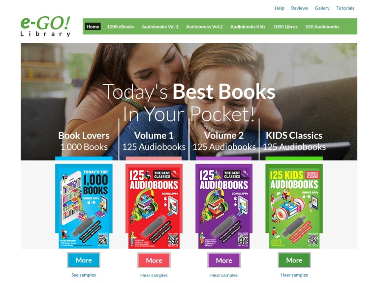 eGo Library Coupon Codes