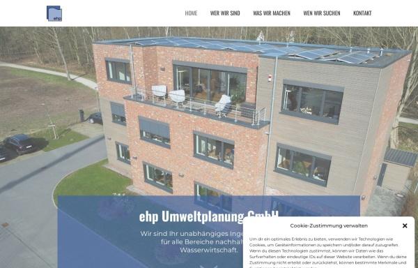 Vorschau von www.ehp-umweltplanung.de, Ehp Umweltplanung GmbH