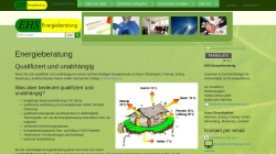 www.ehs-energieberatung.de Vorschau, EHS Energieberatung - Erich Gerbl