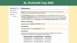 www.eichsfeld-cup.de Vorschau, Eichsfeld-Cup
