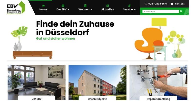 www.eisenbahner-bauverein.de Vorschau, Eisenbahner Bauverein eG