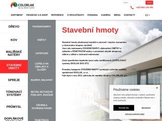 Snímek stránek pro ekolak.cz