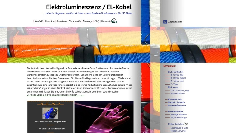 www.el-kabel.de Vorschau, FarbMix, Inh. Martin Eickhoff