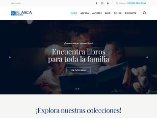 Captura de pantalla para elarca.com.mx
